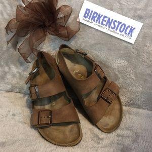 Traditional Brown Birkenstock